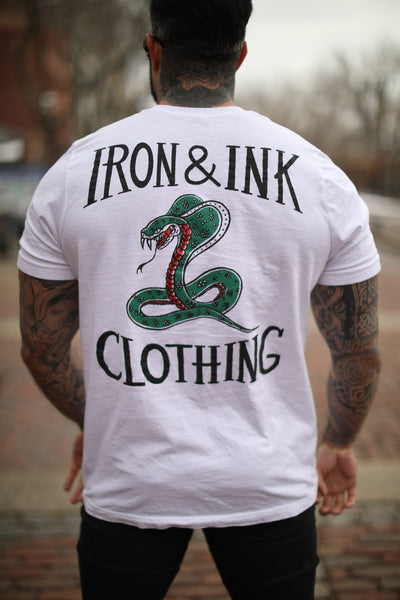 """NEW"" Cobra Unisex Tee Shirt- White"