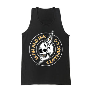 """NEW"" Skull & Dagger Tank Top- Black"