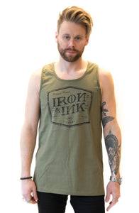 Tattoo's Finest Tank Top- Military Green