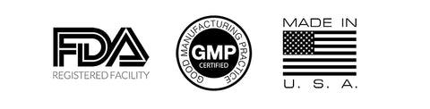 FDA - GMP - Made in the USA