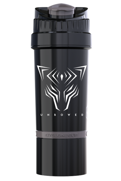UNBOWED Cyclone Shaker Cup in black