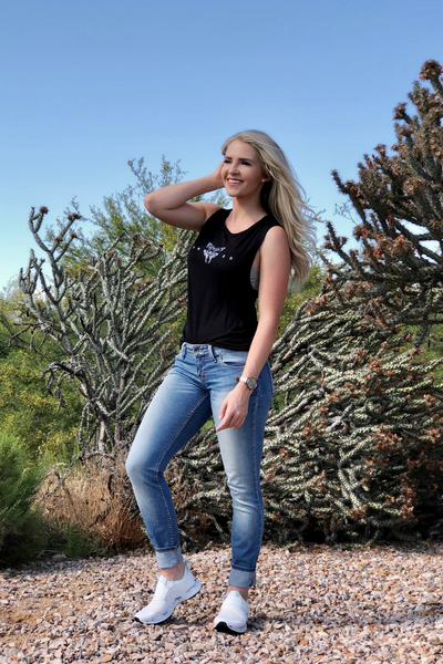 UNBOWED WOMEN'S MUSCLE TANK - UNBOWED