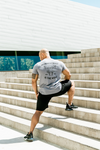 THE STRENGTH OF THE PACK IS THE WOLF MEN'S TRI-BLEND TEE - UNBOWED