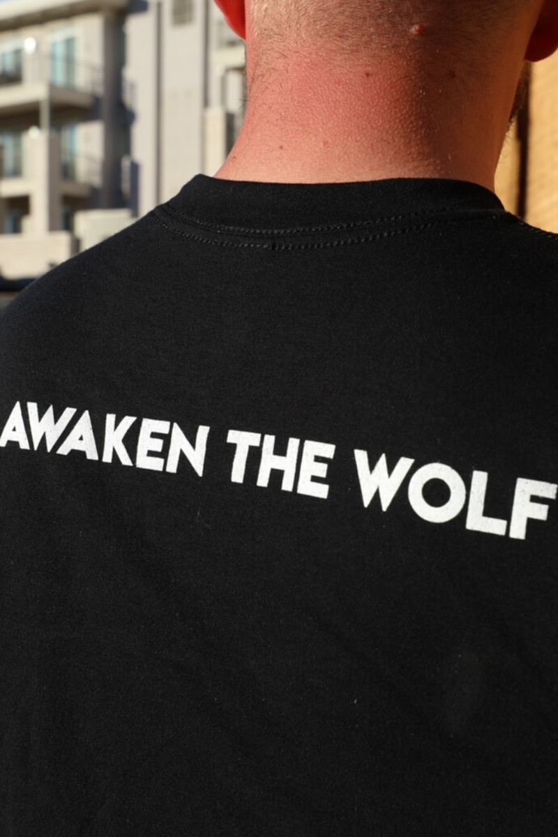 Awaken The Wolf Tee - UNBOWED