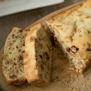 Granola Cranberry Bread - The Perfect Granola