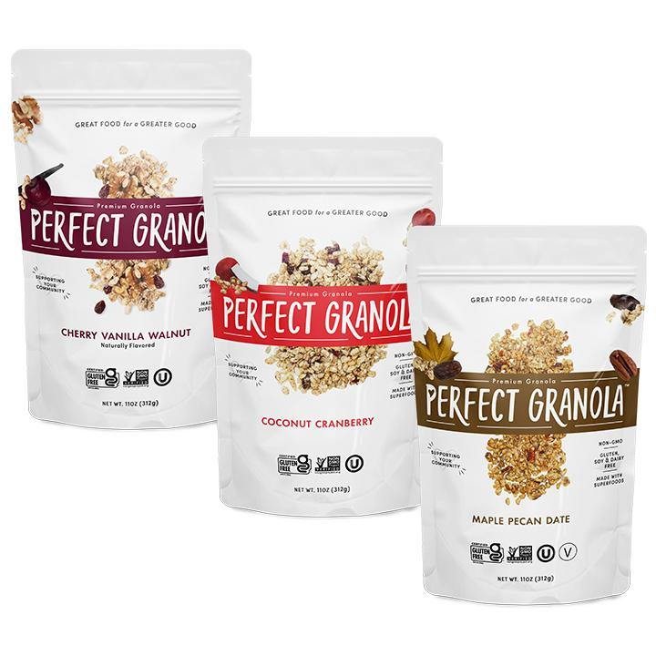 GRANOLA BAG MULTI PACK - The Perfect Granola