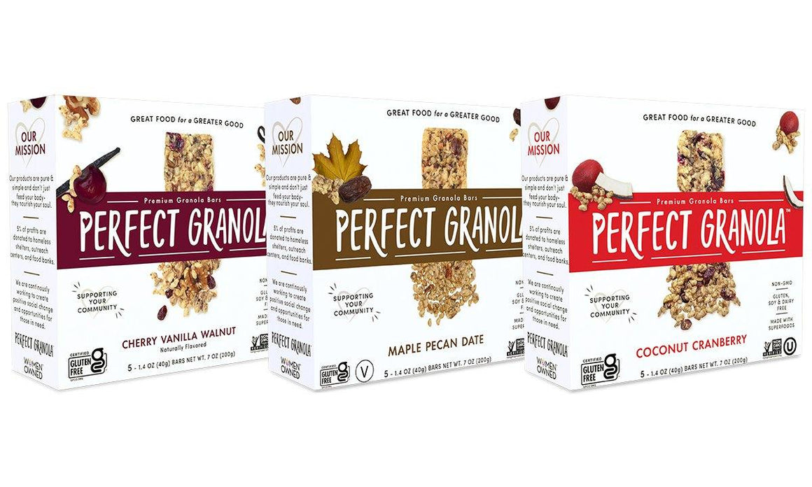 GRANOLA BAR MULTI PACK - The Perfect Granola