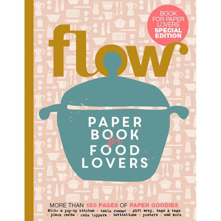 ספר: Flow Paper Book For Food Lovers
