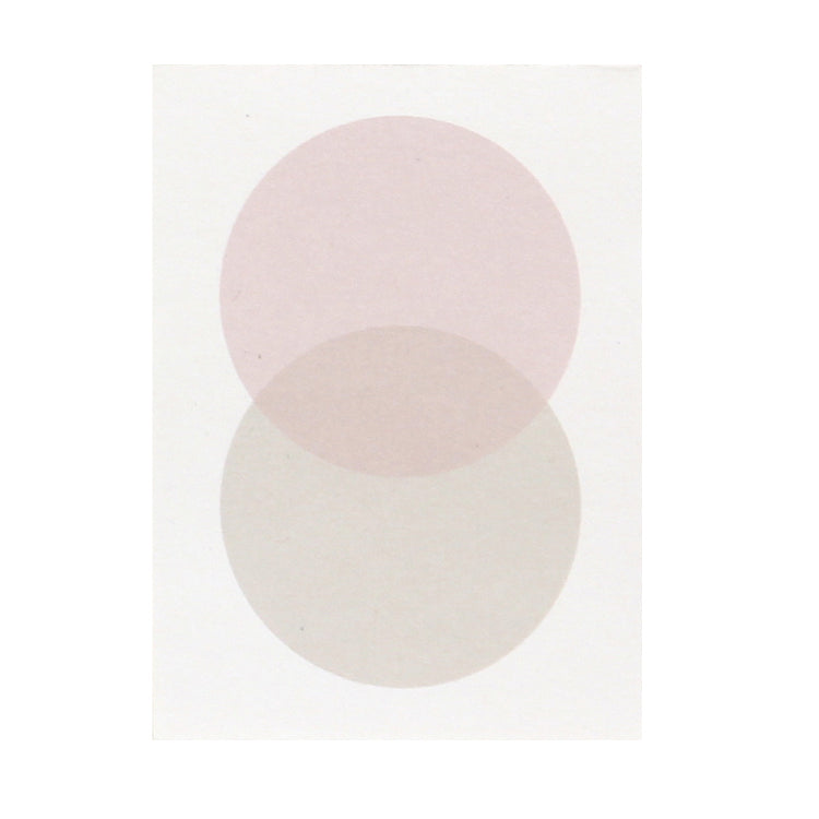 ממו: Moonlight S Circles Pink Grey