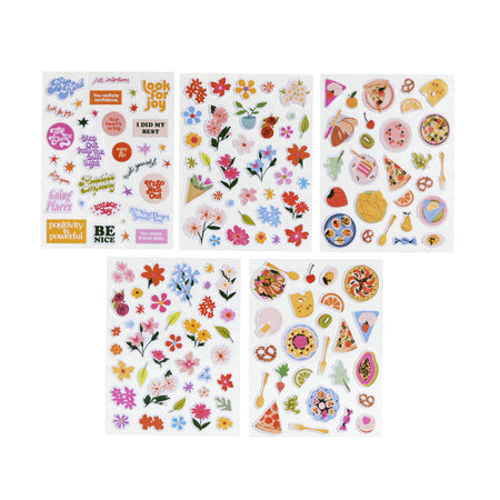 דפי מדבקות: Puffy Stickers