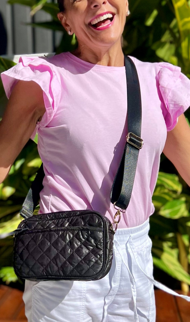 Elm Lifestyle - Mini Me - Bridget Beetle Crew - Pink - Kids clothing