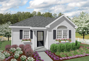 Ashland Cottage Plan - 528 sq. ft.
