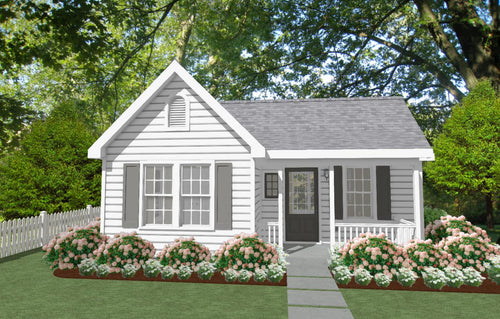Avondale Cottage Plan -      550 sq. ft.