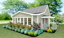 Load image into Gallery viewer, Bridgeton Cottage Plan - 568 sq. ft.