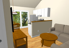 Load image into Gallery viewer, Dover Cottage Plan - 432 sq. ft.