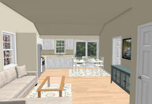 Load image into Gallery viewer, Hamilton Cottage Plan - 572 sq. ft.