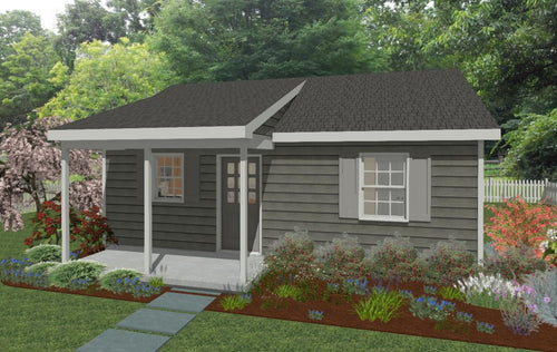 Hanover Cottage Plan - 572 sq. ft.
