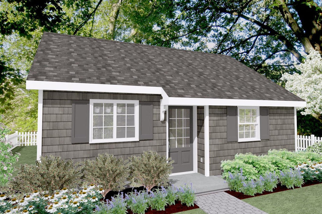 Hartwick Cottage Plan - 538 sq. ft.