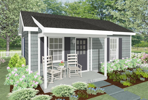 Millford Cottage Plan  -  400 sq. ft.