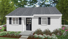 Load image into Gallery viewer, Oxford Cottage Plan - 531 sq. ft.