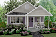 Load image into Gallery viewer, Richland Cottage Plan - 593 sq. ft.