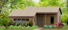 Load image into Gallery viewer, Stillwater Cottage Plan  -  596 sq. ft.