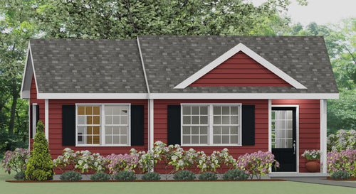 Stockton Cottage Plan  -  560 sq. ft.