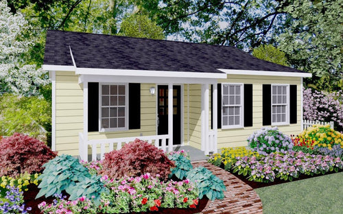 Sundale Cottage Plan  -  630 sq. ft.