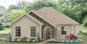 Warwick Cottage Plan  -  710 sq. ft.