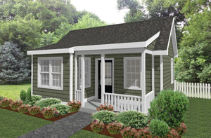 Westbrook Cottage Plan  -  612 sq. ft.