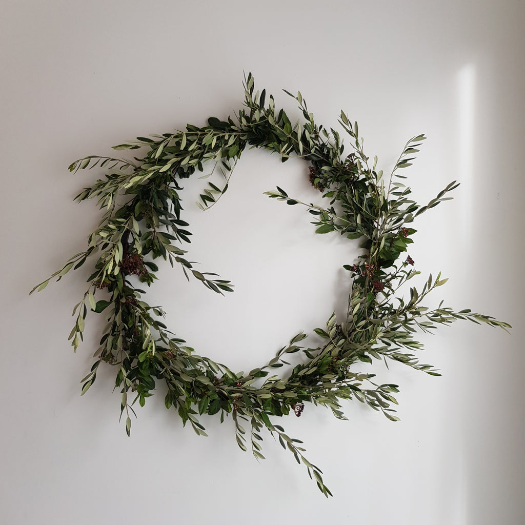 SCANDI STYLE WREATH WORKSHOP Dec 11th