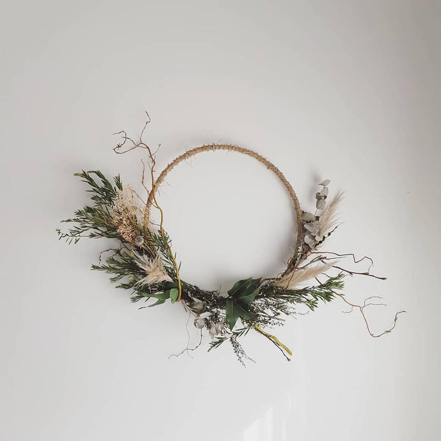 SCANDI STYLE WREATH WORKSHOP Nov 10th