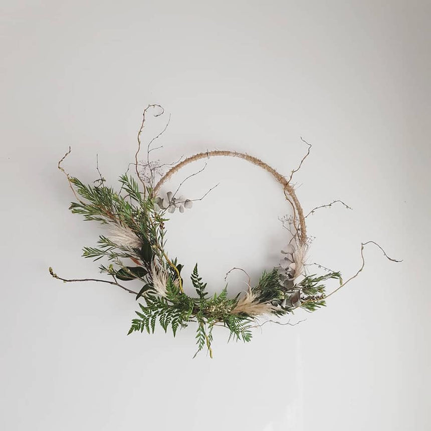 SCANDI STYLE WREATH WORKSHOP Nov 17th