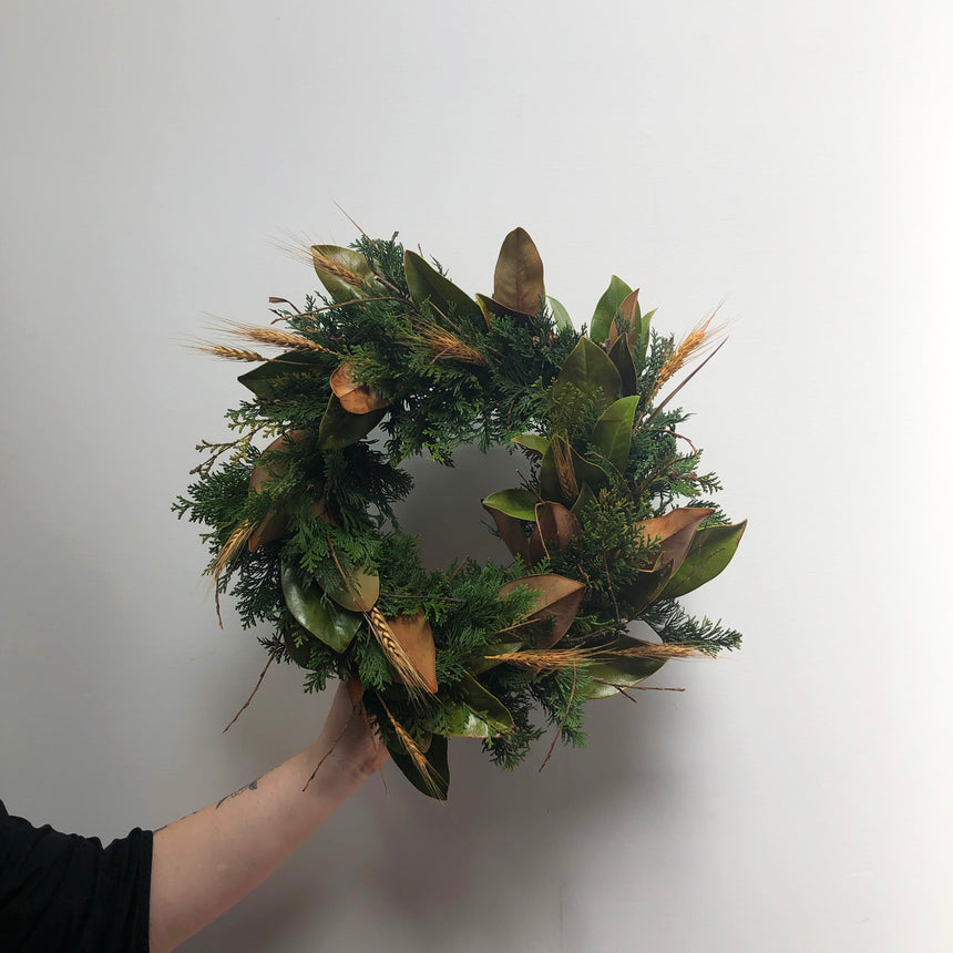 TRADITIONAL WREATH WORKSHOP Dec 3rd