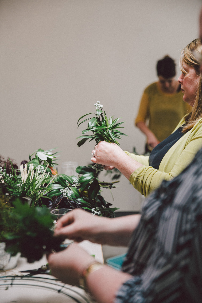 Traditional Wreath Workshop December 13th