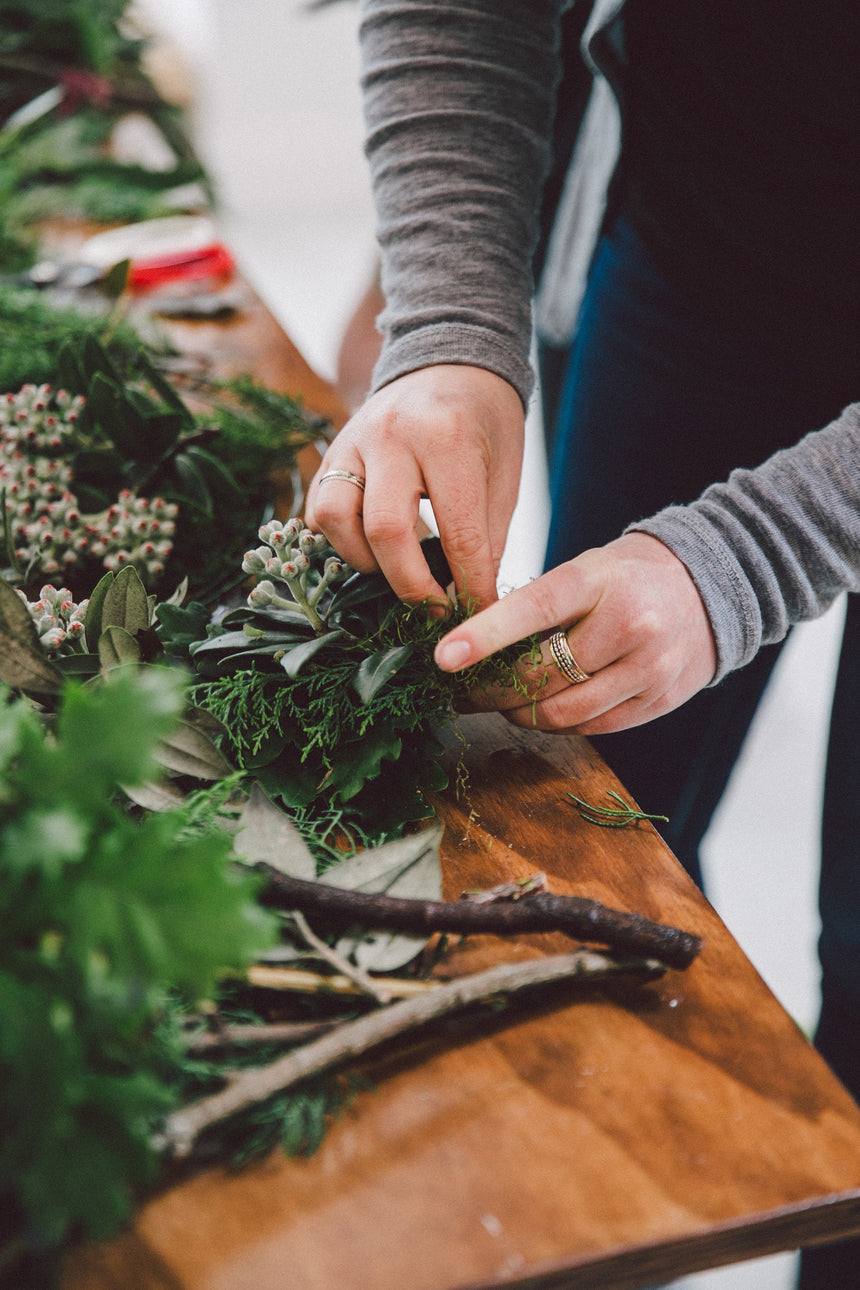 Traditional Wreath Workshop December 16th