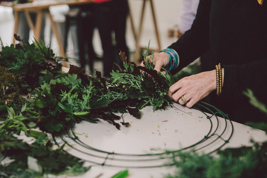 TRADITIONAL WREATH WORKSHOP Dec 19th