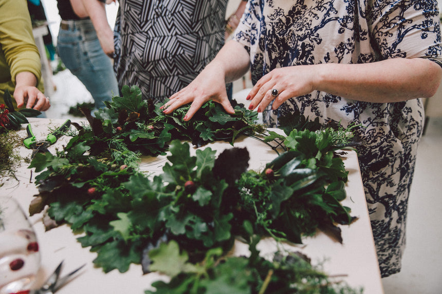 Traditional Wreath Workshop December 9th