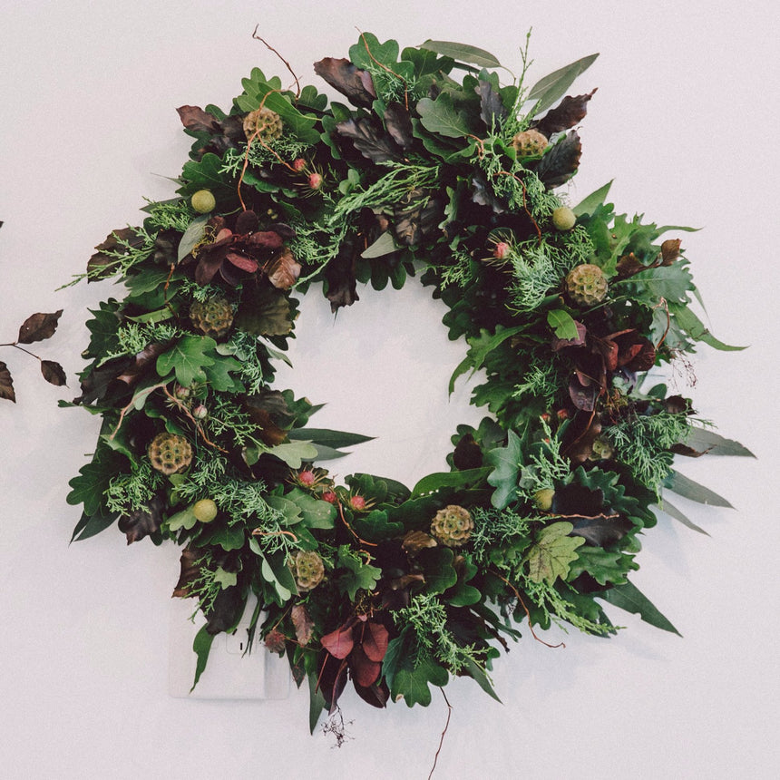 TRADITIONAL WREATH WORKSHOP Dec 14th