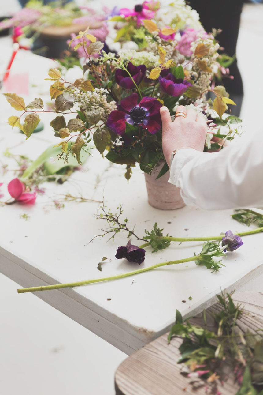 Advanced Spring Bouquet Workshop