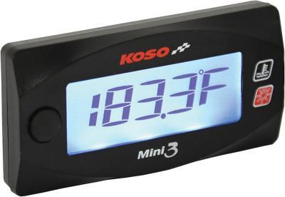 Koso Mini 3 Cylinder Head Temperature Meter - Tacticalmindz.com