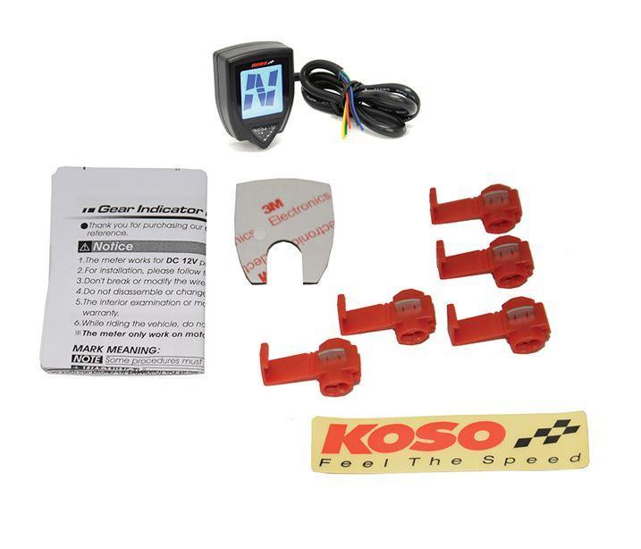 Koso Gear Indicator for Honda GROM®  In stock - Tacticalmindz.com