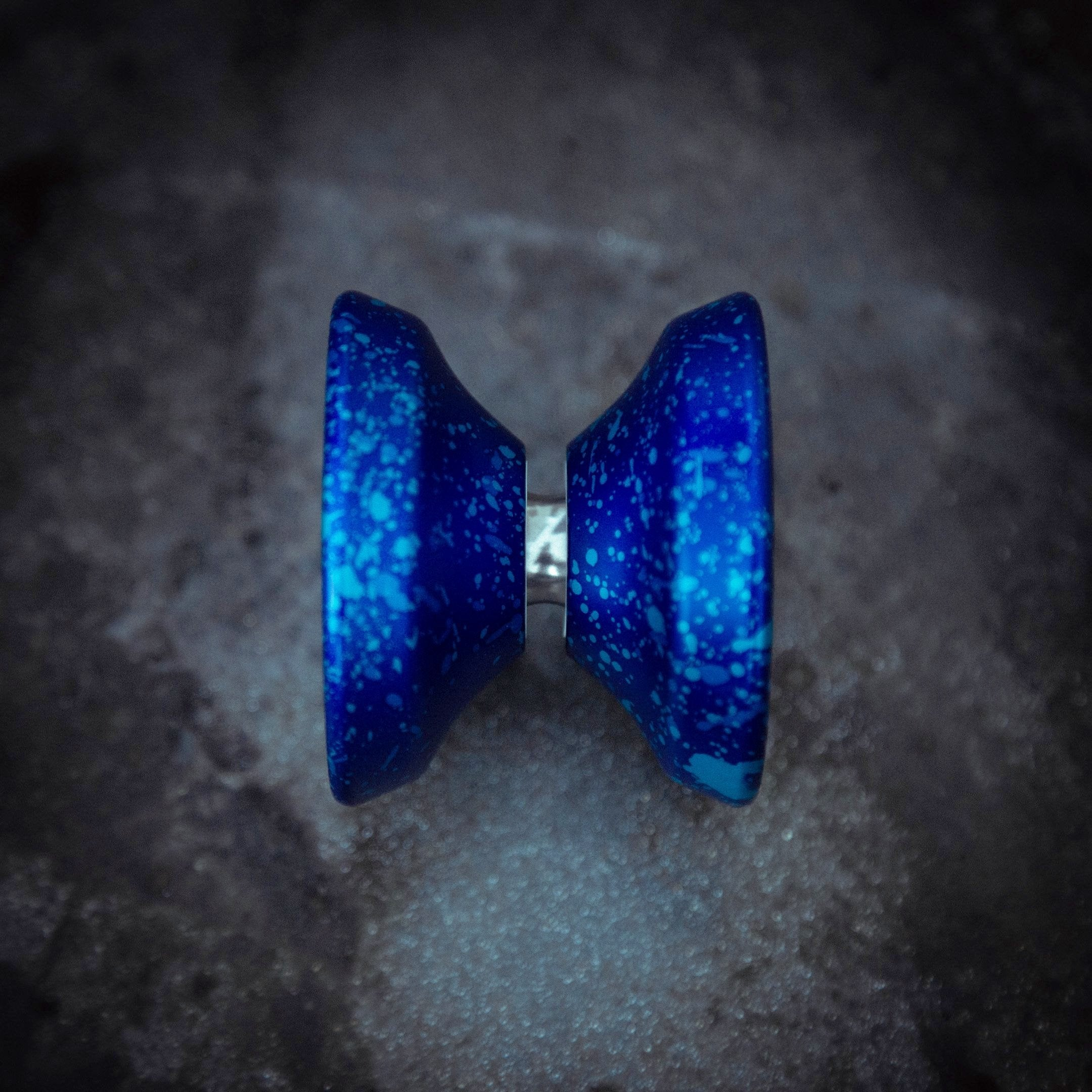 Prototype Bioluminescence Blue profile view Yoyo