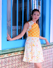 Helen's Garden in Bloom Ladies Cheongsam