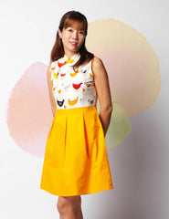 Metro Chick in Harmony Ladies Cheongsam