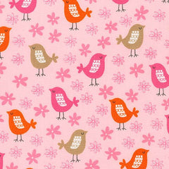 Sweet Bird in Spring Girls Cheongsam