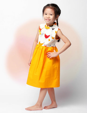Metro Chick in Harmony Girls Cheongsam Dress