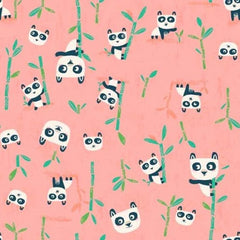 Pandas in Harmony Girls Cheongsam