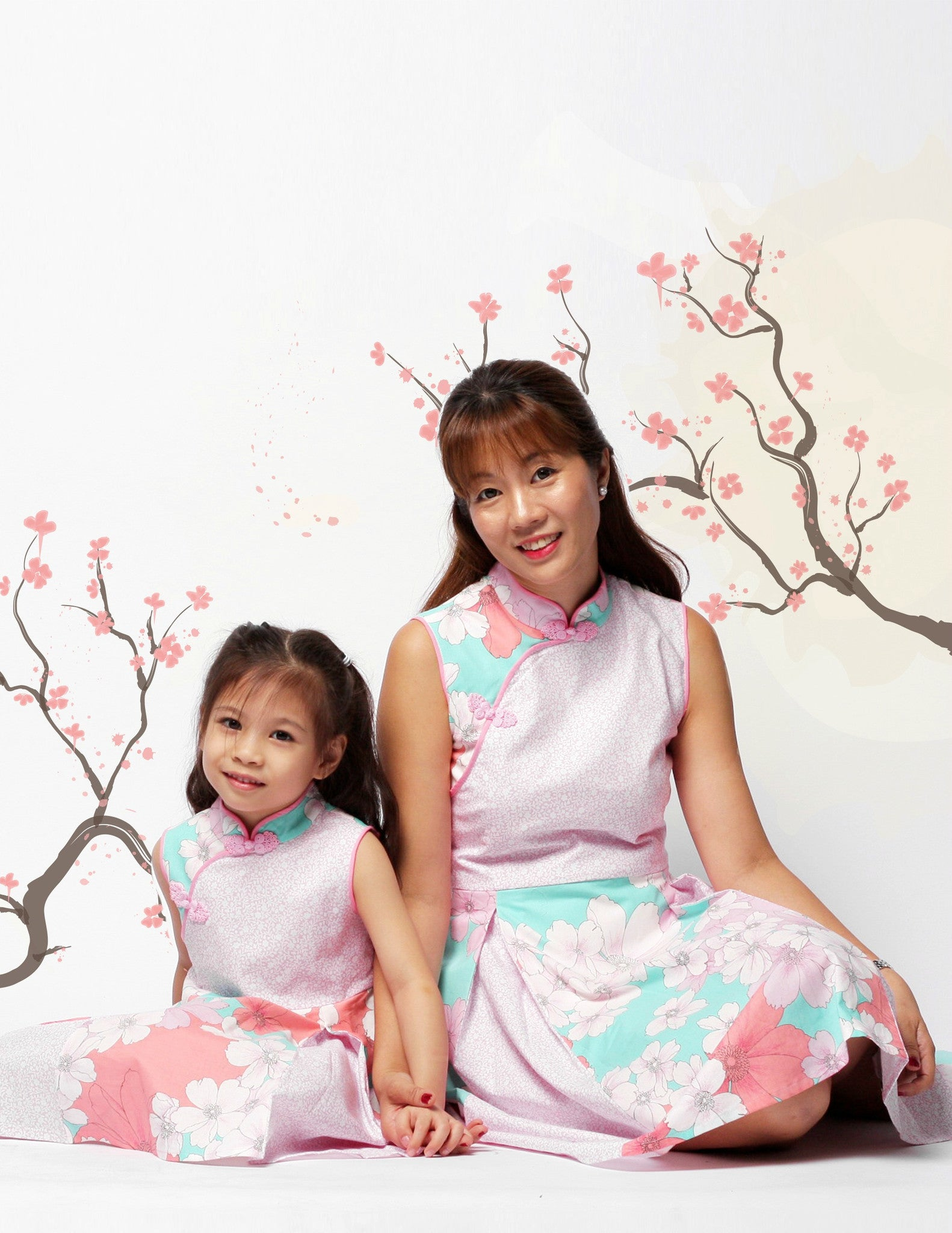 Aliyah in Harmony Ladies Cheongsam