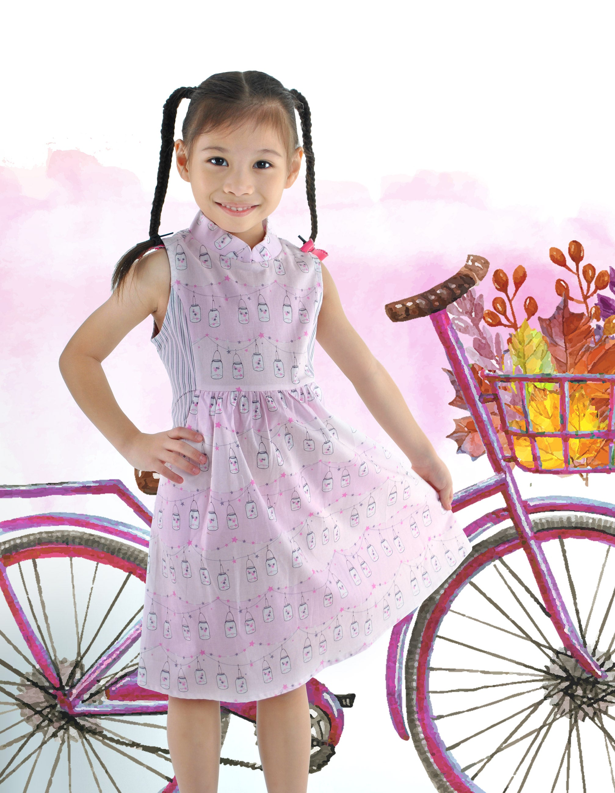 Twinkle Twinkle Fortune Jars Girls Dress